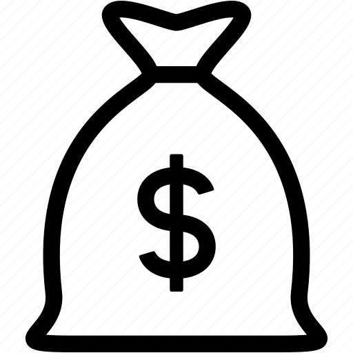 bank, business, cash, dollar, financial, money bag, usd icon