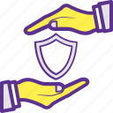 defense, protection, safety, security, shelter icon