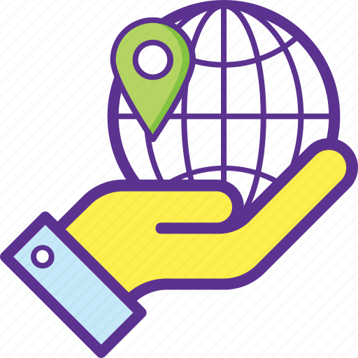 geolocation, global locationing service, gps, navigation, web placeholder icon