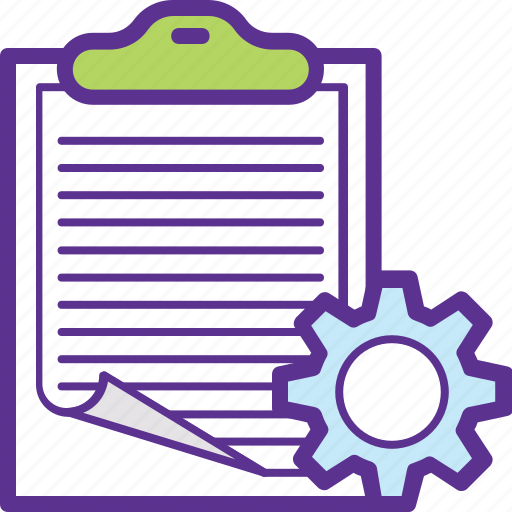 business process, document processing, order management, order processing, service order icon
