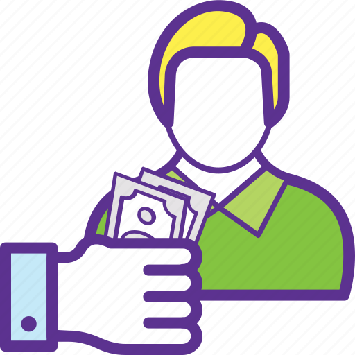 Earnings, employee wages, income, perks, salary icon - Download on Iconfinder