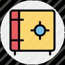 locked, safe, saving, secure, vault icon