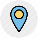 location, location marker, location pin, location pointer, map, map pin, navigation icon