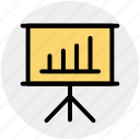 analysis, analytics, business, graph, graph board, info graphic icon