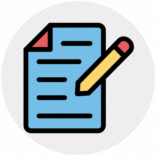 banking, contract, document, files, paper, pencil, sheet icon