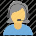 call centers, call service, csr, customer care, online customer care icon