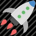 development, launch, project launch, rocket launch, startup launch icon