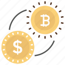 bitcoin exchange, currency converter, currency exchange, exchange rate, foreign exchange icon