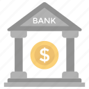 bank, bank building, business building, depository home, financial institution