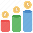 business growth, data visualization, expansion, finance development, growth chart, progress