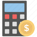 arithmetics, business calculation, calculating machine, calculator, mathematics, totalizer icon