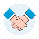 agreement, business, close, contracts, deal, deals, hand, handshake, shaking, sign icon