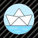 beginner, boat, business, fragile, learner, metaphors, newcomer, novice, paper icon
