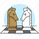 analysis, board, business, challenge, chess, competition, logic, strategy icon