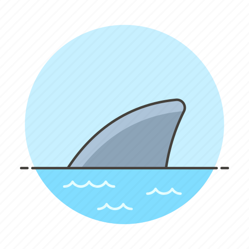 aggressive, business, competitive, direct, fin, man, metaphors, risky, shark, tank, threat icon