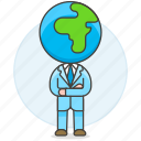 1, arm, business, crossed, global, man, people, world icon