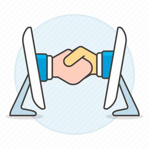 1, agreement, business, contracts, deal, deals, digital, executive, hand, online, shake icon