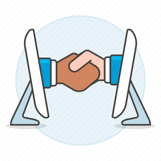 2, agreement, business, contracts, deal, deals, digital, executive, hand, online, shake icon