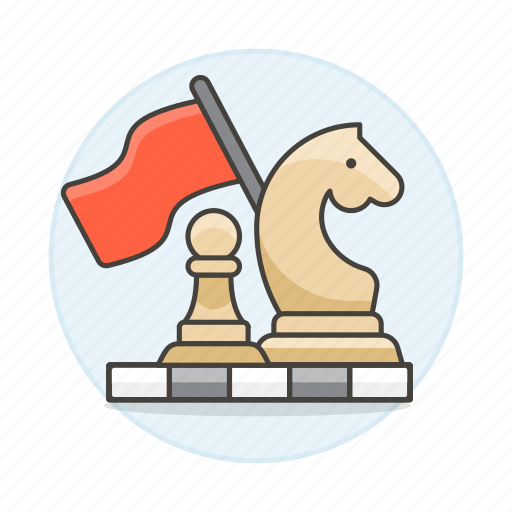 approach, board, business, chess, game, plan, strategy, tactic icon
