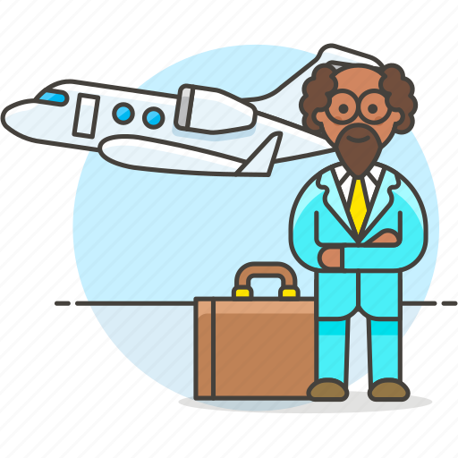 2, business, flight, foreign, investment, man, meetings, migration, seminar, travel, trip icon