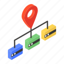 address, gps network, network architecture, network location, shared location icon