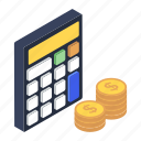 adder, adding machine, business estimate, calculator, electronic calculator, financial calculations, number cruncher icon