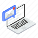 correspondence electronic mail, email notification, internet email, received email icon
