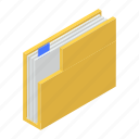 data folder, docs, file, folder, folder document icon