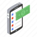 internet banking, mobile banking, mobile payment, payment gateway, smartphone banking icon