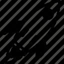 launcher, spaceship, speedup, startup, rocket, launch icon