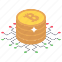 bitcoin architecture, bitcoin network, btc network, cryptocurrency network, financial network icon