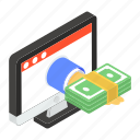 internet payment, online payment, payment channel, payment gateway, payment processing icon