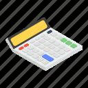 adder, adding machine, calculator, electronic calculator, number cruncher icon