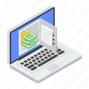 digital banking, internet savings, online earning, online savings, saving account icon