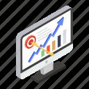 assumption, data analytics, data prediction, forecast, growth chart, online analytics, statistical analysis icon