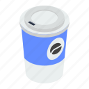 disposable coffee, caffeine, hot coffee, cafe, brew, coffee cup icon