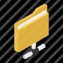 data folder, data sharing, file, folder, folder network, shared folder icon