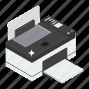 laser printer, output device, printer, printing machine, wireless printer icon