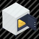 bank vault, safe box, digital locker, locker, bank locker icon