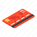 atm, bank card, cash card, credit card, debit card icon
