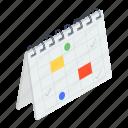 event calendar, event schedule, schedule, timetable, year planner icon