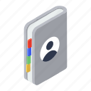contacts book, address book, phone directory, contacts, phone book icon