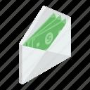 cash envelope, finance envelope, monetize, money latter, money order icon