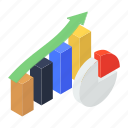 assumption, business growth, data analytics, data prediction, forecast, growth chart, statistical analysis icon