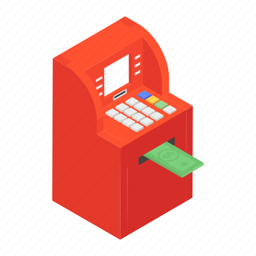 Atm machine, card transaction, cash dispenser, instant banking, payment gateway icon - Download on Iconfinder