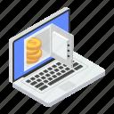 bank account, digital banking, internet savings, online earning, online savings, savings account icon