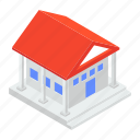 bank, bank architecture, building, depository house, financial institute icon