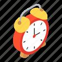 alarm, alarm clock, alert, clock, ringing clock, timer icon