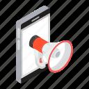 advertisement, digital marketing, online campaign, online promotion, publicity, social marketing icon