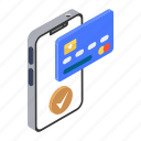 card payment, mobile banking, mobile payment, payment gateway, payment via card, verified payment icon